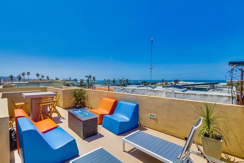 Roof Top Sundeck with Ocean Views - ASBURY714 - San Diego - rentals