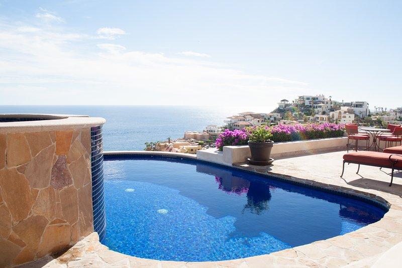 Breathtaking views of the Pacific Ocean. - Casa Cascadas - 4 Bedrooms - Cabo San Lucas - rentals