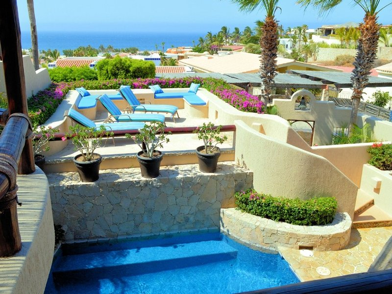 Beautiful views and short walk to Pedregal Beach - Casa Oasis - 3 Bedrooms - Cabo San Lucas - rentals