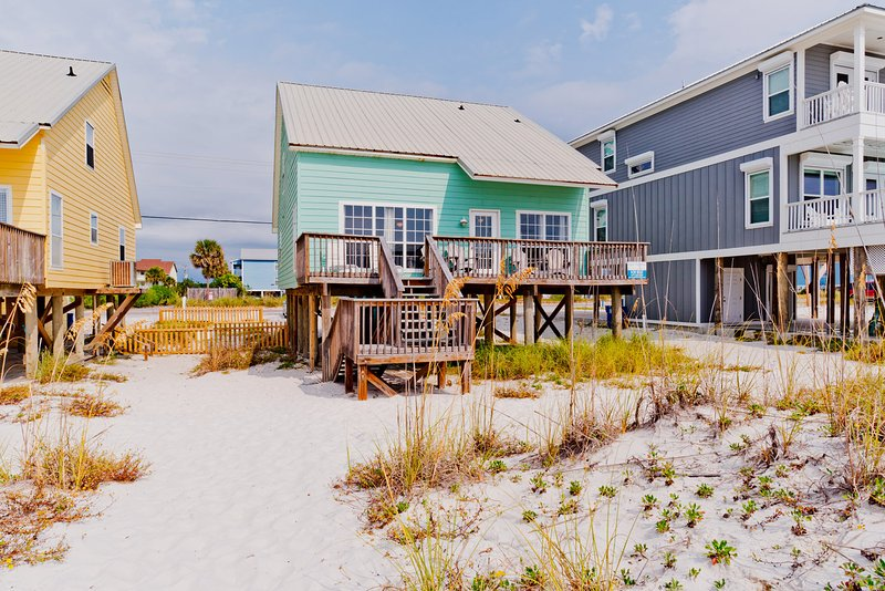 Somewhere in Time 1 is Directly Beach Front - Somewhere in Time 1 - Gulf Shores - rentals
