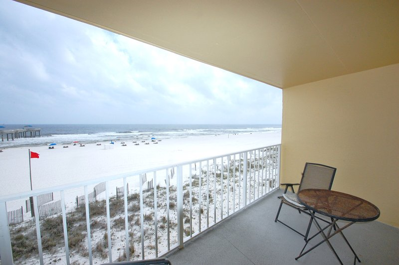 The perfect location for your morning coffee! - Just Beachy (Emerald Skye #14) - Orange Beach - rentals