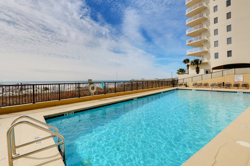 Outdoor Pool - Southern Living (The Palms #215) - Orange Beach - rentals