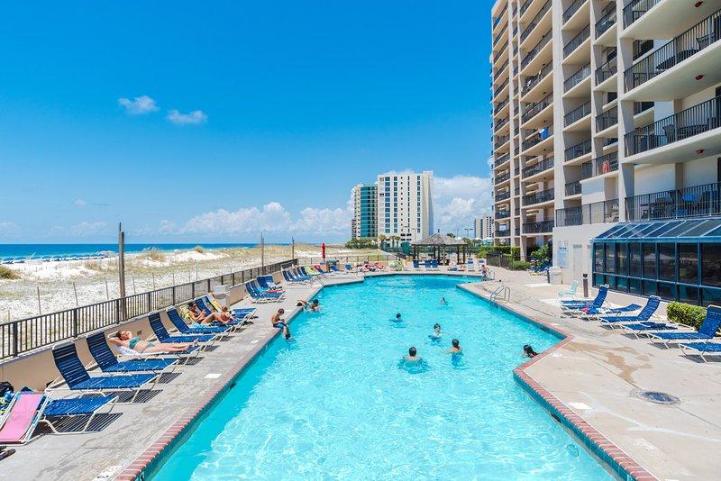 Outdoor Pool. - Beach Daze (Phoenix X #1214) - Orange Beach - rentals