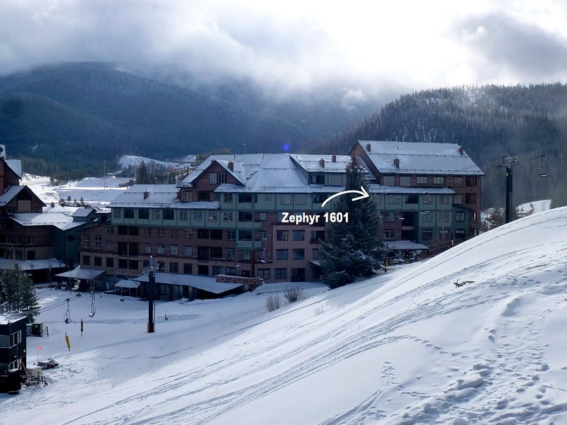 Zephyr Mountain Lodge 1601 - Image 1 - Winter Park - rentals