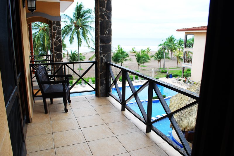 Private balcony with Ocean view - Bahia Encantada 3J 3rd Floor Ocean View - Jaco - rentals