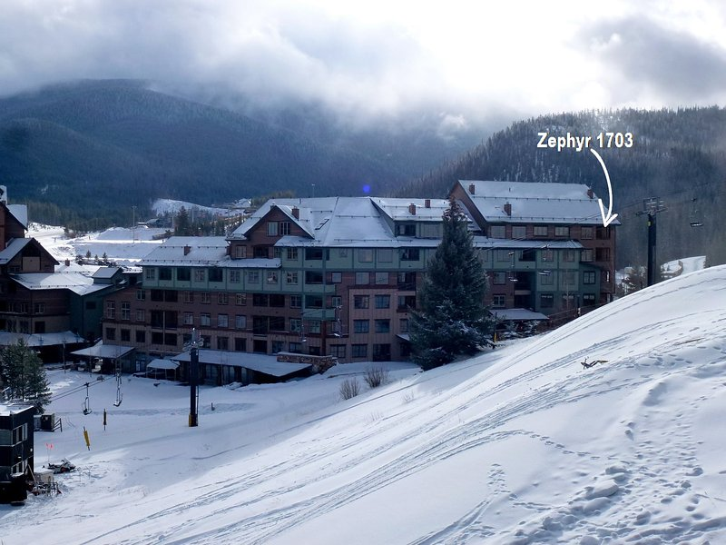Incredible slopeside location. - Zephyr Mountain Lodge 1703 - Winter Park - rentals