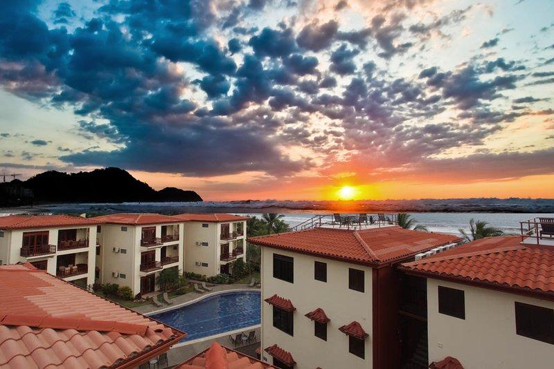 Rooftop view - Bahia Azul 10C - Jaco - rentals