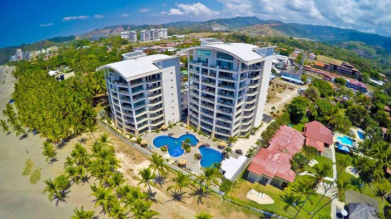 Diamante del Sol aerial - Diamante del Sol 503S 5th Floor Ocean View - Jaco - rentals