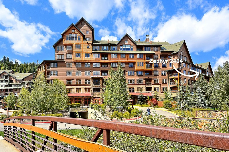 Your location in the Zephyr Mountain Lodge Riverside Building - Zephyr Mountain Lodge 2404 - Winter Park - rentals