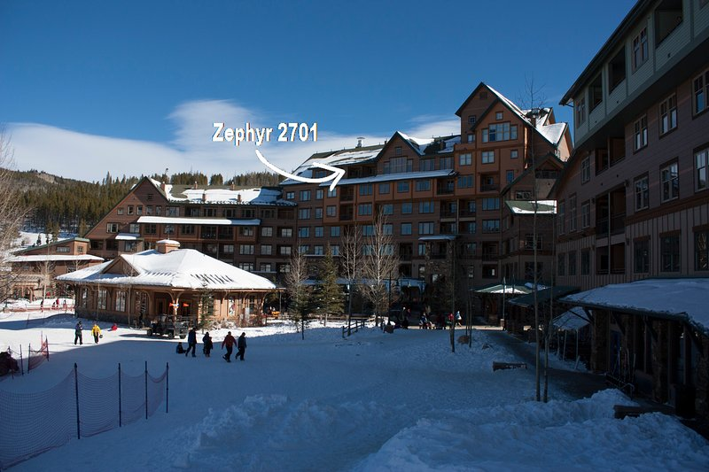 Great location with sweeping views - Zephyr Mountain Lodge 2701 - Winter Park - rentals