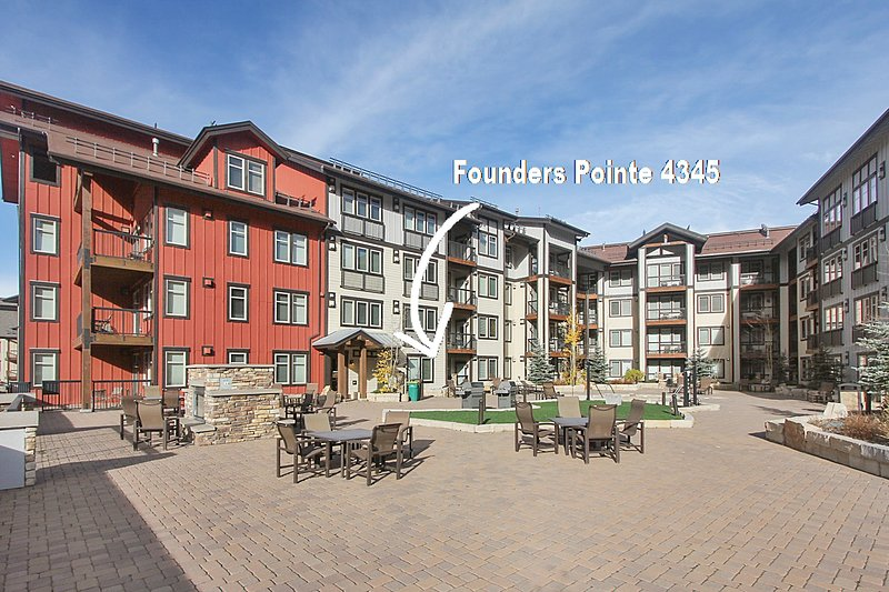 Amenity level access from condo - Founders Pointe 4345 - Winter Park - rentals