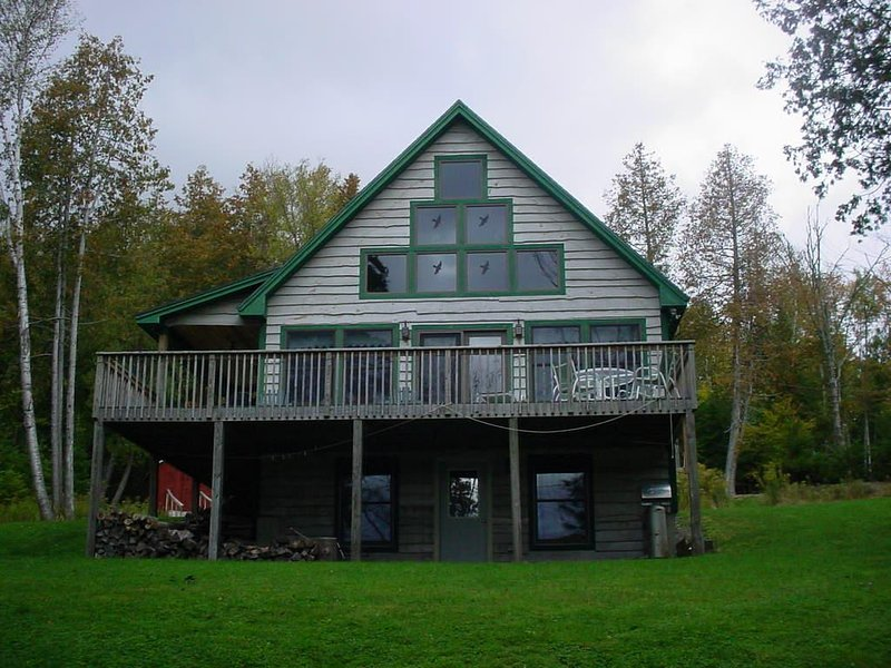 View from lawn - 7 Angel Point View - Rangeley - rentals