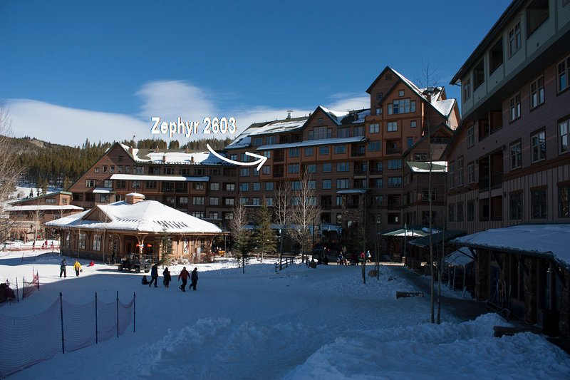 Private balcony with great views - Zephyr Mountain Lodge 2603 - Winter Park - rentals