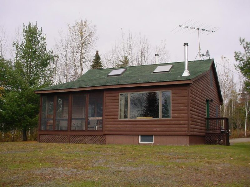 View from front - SBLL 33 - Rangeley - rentals