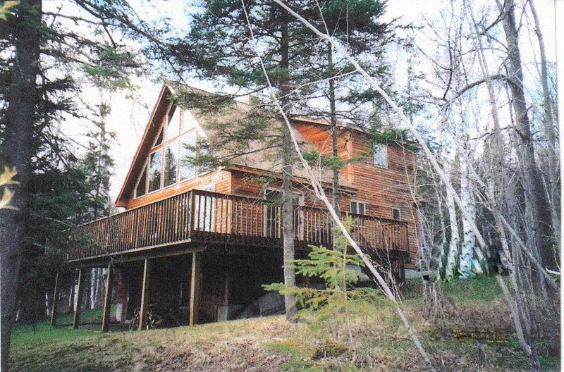 View from side - Wood Wind - Rangeley - rentals