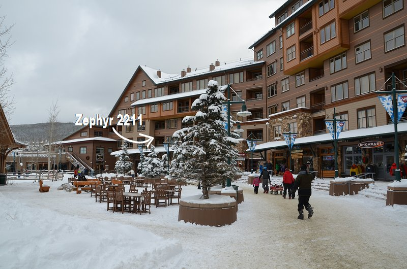 Winter Wonderland just steps below you - Zephyr Mountain Lodge 2211 - Winter Park - rentals