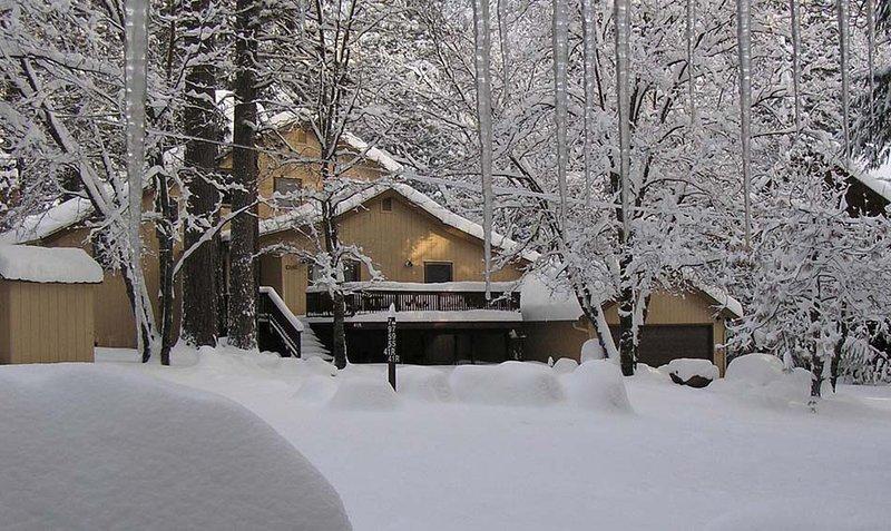 Wawona Home in winter - (41R) Wawona Home - Wawona - rentals