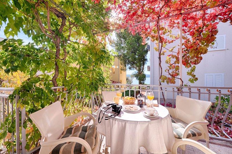 a terrace as a living room - A terrace as a living room - Sibenik - rentals