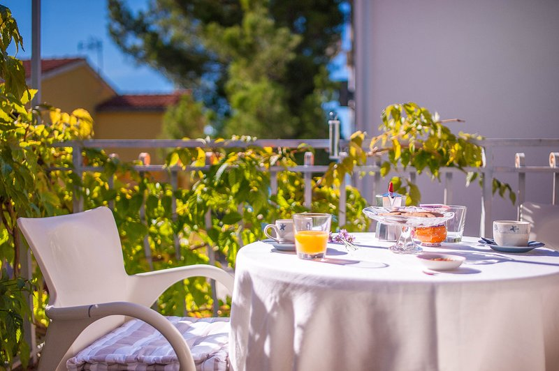 Morning Breakfast on the terrace  - Design with a mediterranean touch - Sibenik - rentals