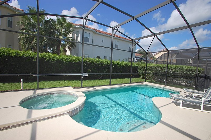 Full view of the pool - 1039THB- Casa Tuscana - Davenport - rentals