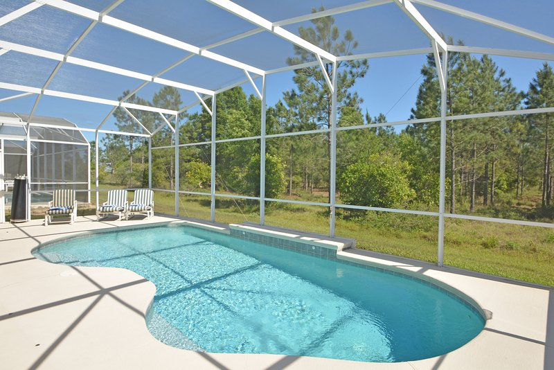 Pool with conservation view - 454HC-Four Winds - Davenport - rentals