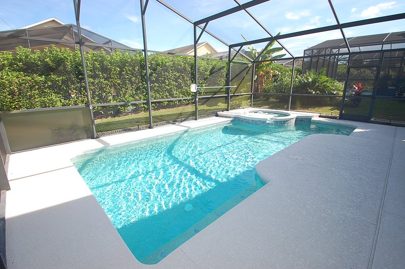 Pool and jacuzzi - 519OBC-Sunshine Daydream - Davenport - rentals