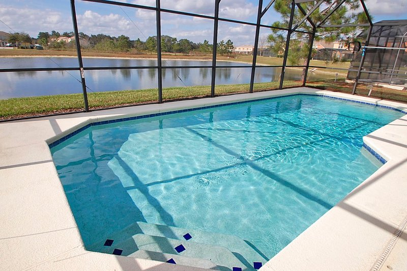 Pool with lake view - 17631WW -Lakeview Villa - Four Corners - rentals