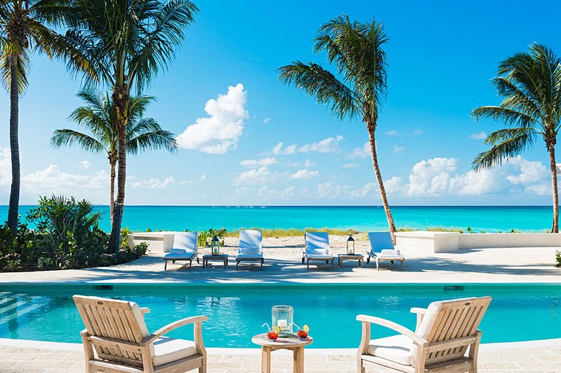 Luxury 5 bedroom Turks and Caicos villa. Luxury Beachfront! - Image 1 - Grace Bay - rentals