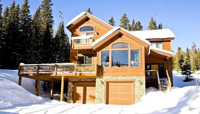Front Winter View - Alpine Vista - Breckenridge - rentals