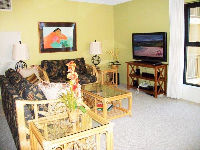Sugar Beach Resort 2 Bedroom Ocean View 512 - Image 1 - Kihei - rentals