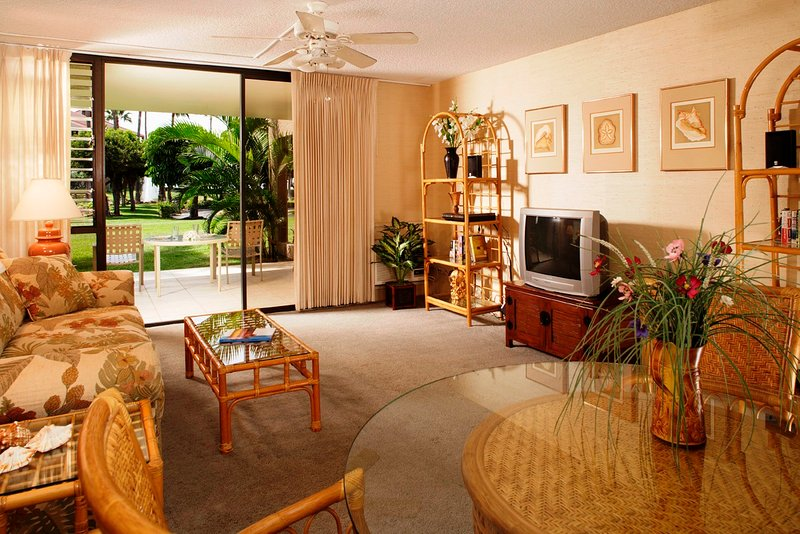 Kamaole Sands 2 Bedroom Garden View Suite - Image 1 - Mauna Lani - rentals
