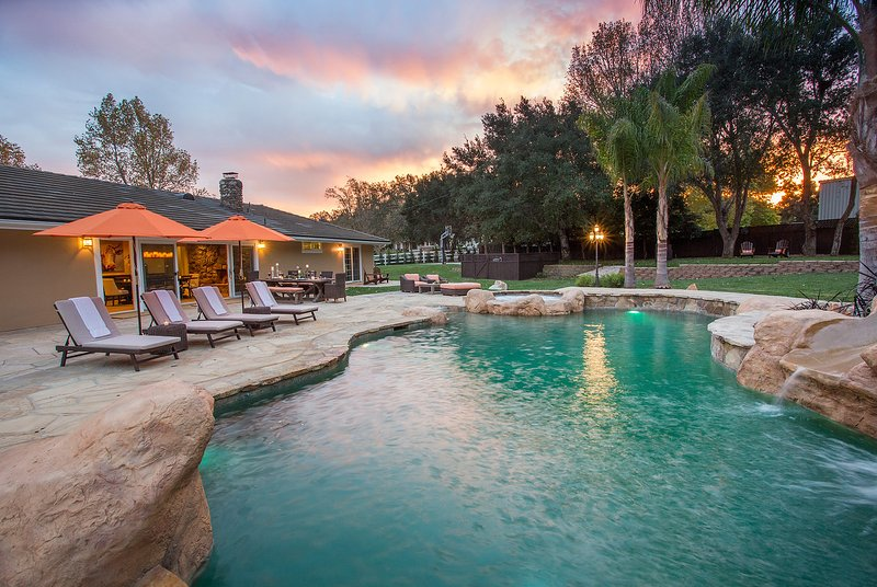 Amazing valley sunsets year round - Paradise Valley Retreat - Solvang - rentals
