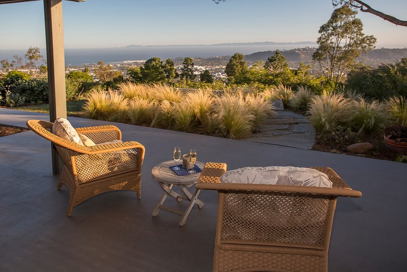 From the Terrace outside the Living Room - California Dreamin' - Santa Barbara - rentals