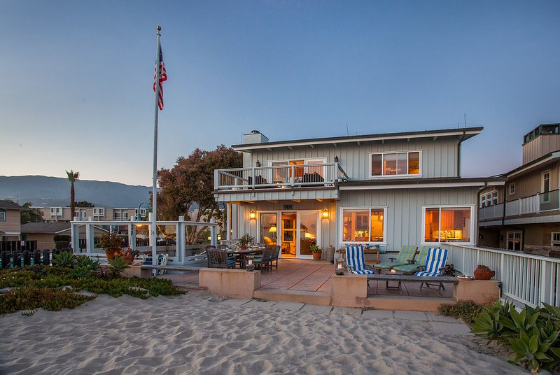 The evening sun sets on Beachfront Bliss - Beachfront Bliss - Carpinteria - rentals