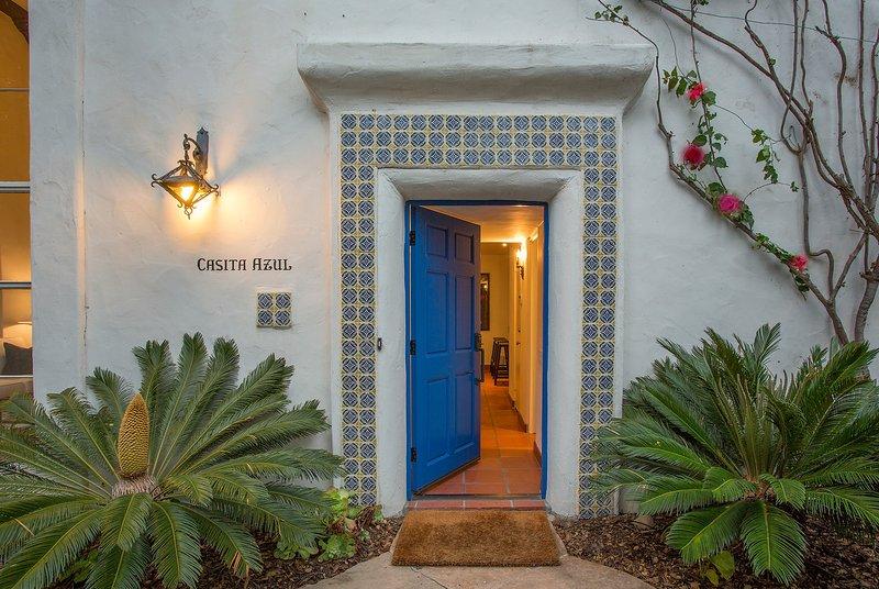 "Welcome to Casita Azul - ""Blue House"" - Casita Azul - Montecito - rentals"