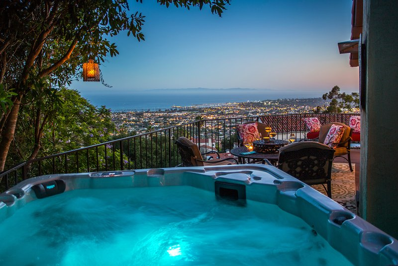 Relax in the spa and enjoy the view! - Riviera Regency - Santa Barbara - rentals