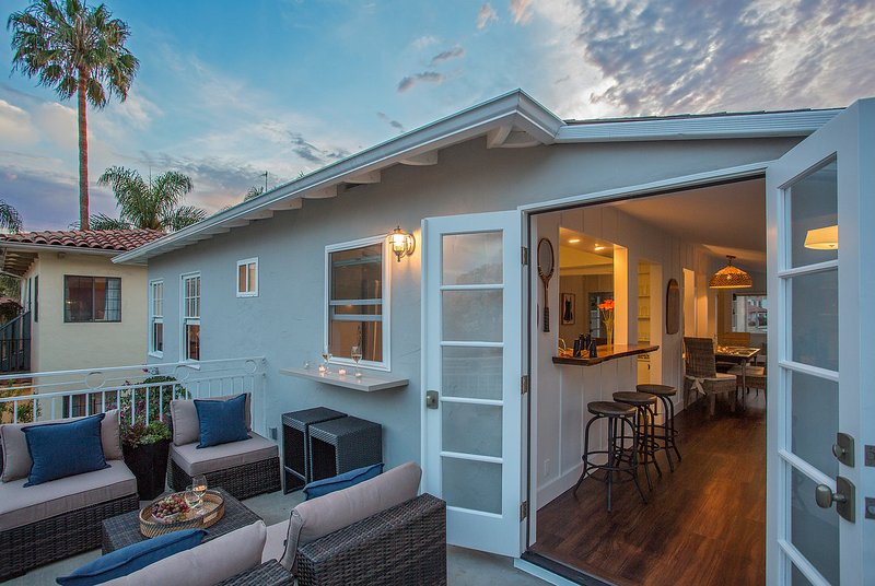 The balcony for sunset is lovely - The Lookout at West Beach - Santa Barbara - rentals