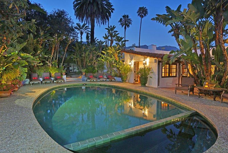 A serene setting at Hacienda de la Mariposa - Hacienda de la Mariposa - Montecito - rentals