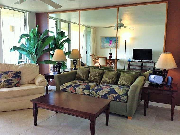 Wailua Bay View 1 Bedroom Ocean Front 115 - Image 1 - Kapaa - rentals