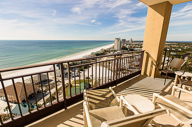 This is your amazing westward view so to see the sunset - 4833 Westwinds - Miramar Beach - rentals