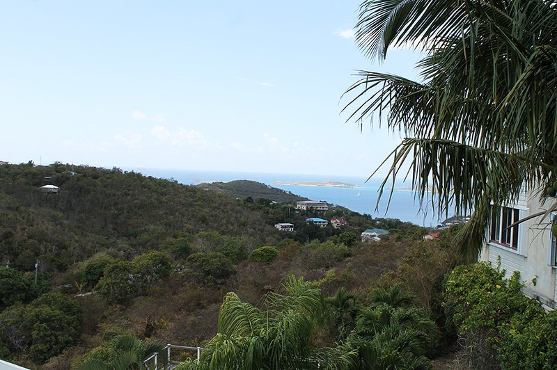 Ocean View from Private Balcony - Palmy Daze Condo - Cruz Bay - rentals