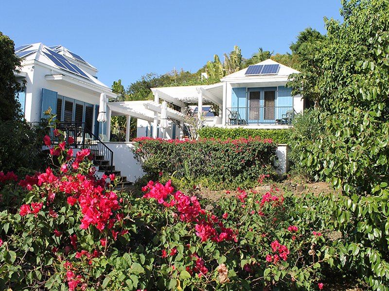 Ilios Villa features Mediterranean-style architecture - Ilios Villa - Chocolate Hole - rentals
