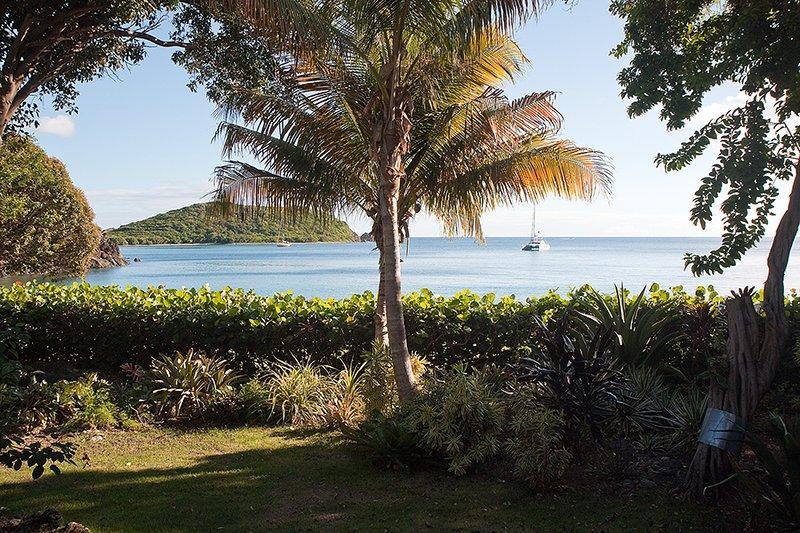 View of Klein Bay - Belle Mer Villa - Cruz Bay - rentals