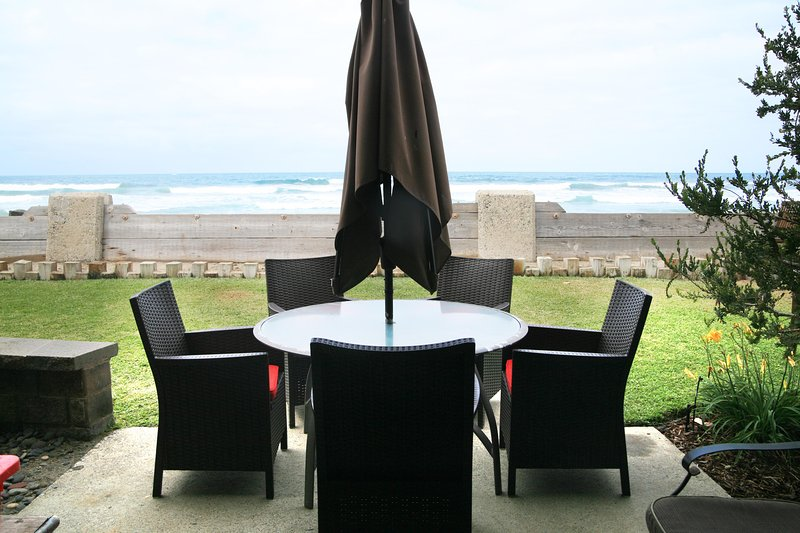 view from the patio - E19 - Sunset Getaway - Oceanside - rentals