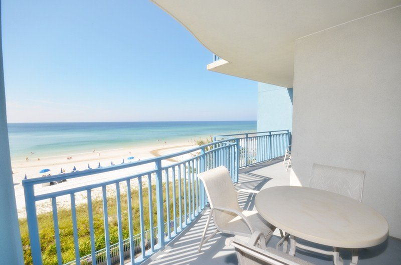 Beachside 3rd Floor Condo with Great Views at Sterling Breeze - Image 1 - Panama City Beach - rentals