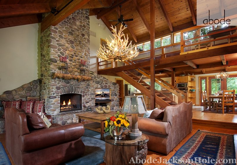 Abode Luxury Rentals Jackson Hole 6 bedroom home with amazing mountain views! - Abode off Moose-Wilson - Wilson - rentals