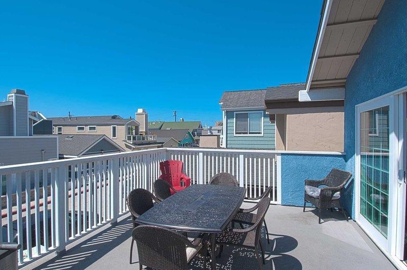 Balcony - 125 B 27th Street - Newport Beach - rentals
