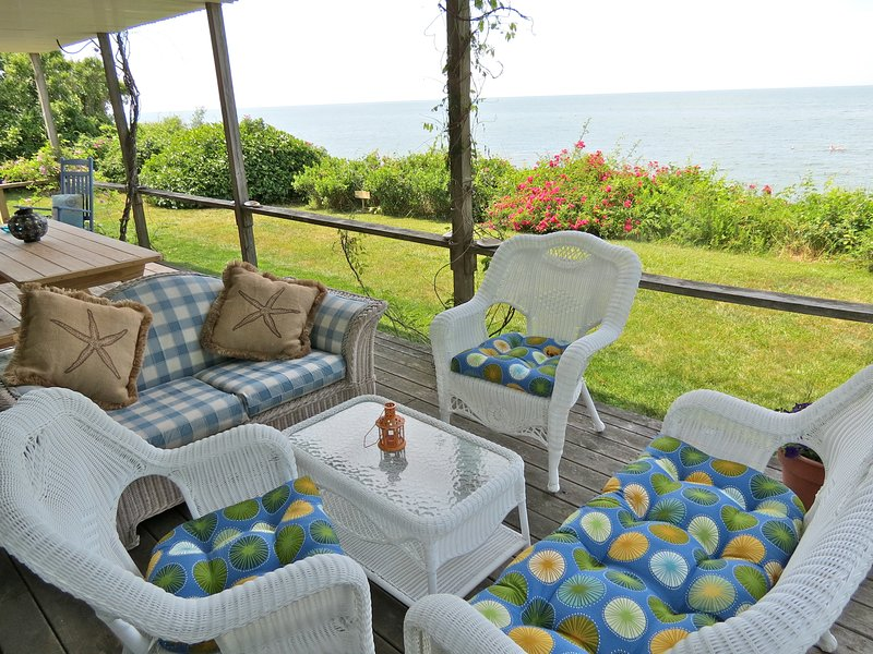 Stunning location directly on Cape Cod Bay makes this classic Brewster home an ideal vacation spot. - Renovated Beauty on the Beach in Brewster--020-B - Brewster - rentals