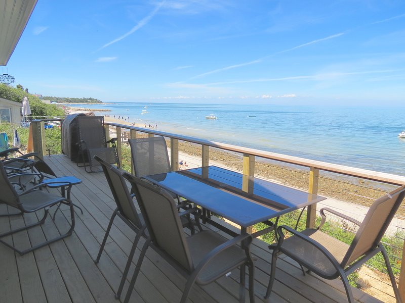 You're looking at one of a kind: brand new and right on the beach in Brewster - New, on the beach, sweeping bay views--026-B - Brewster - rentals