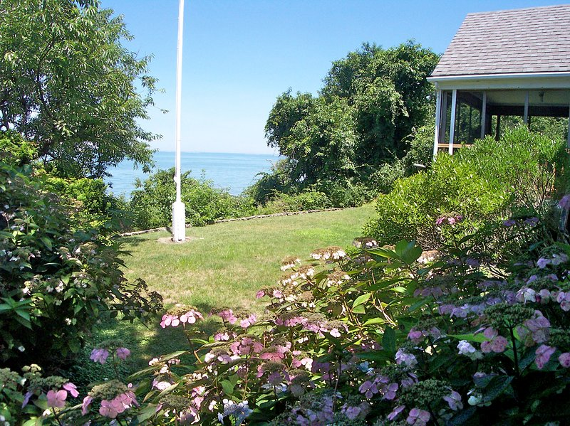 You can't be any more on the beach than this property! - Perfect Perch on Private Brewster Beach -- 116-B - Brewster - rentals